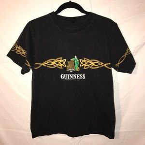 Cute vintage guinness beer t shirt size small